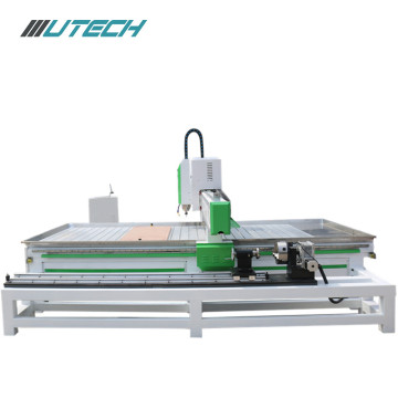 3d cnc router with rotary attachment