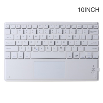 7/9/10 Inches Wireless Bluetooth Lightweight Keyboard with Touchpad Cellphone Tablet Laptop Keyboard Portable Travel Home Keypad