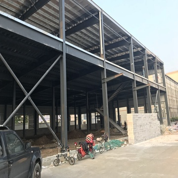 Prefabricated Steel Structure Frame Warehouse for Sale