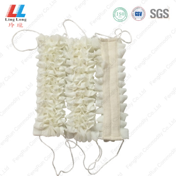 White new style long belt scrubber