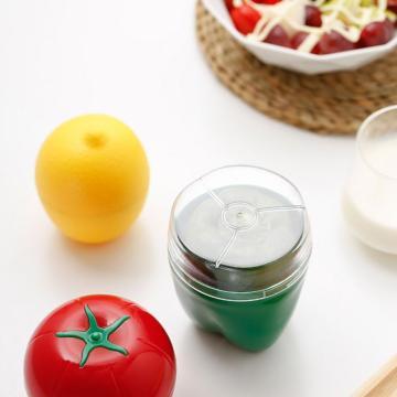 Food Box Creative Organizer Crisper Vegetable Containers Onion Garlic Avocado Tomatoes Lemon Green Pepper Fresh Storage Kitchen
