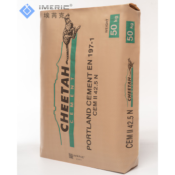 50KG Recycled Block Bottom White PP Valve Bag