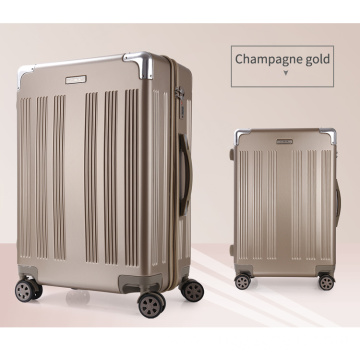 Wholease price durable pc hand luggage suitcase