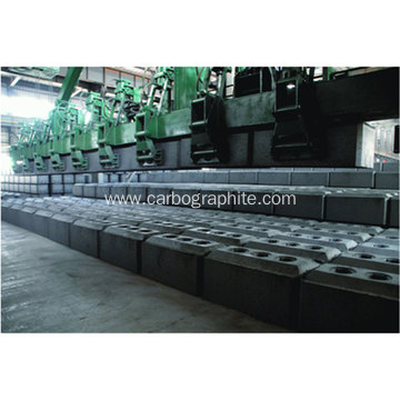 Prebaked Carbon Anodes for Aluminium Smelters Russia