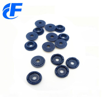 Custom wholesale fashion ring four part snap button