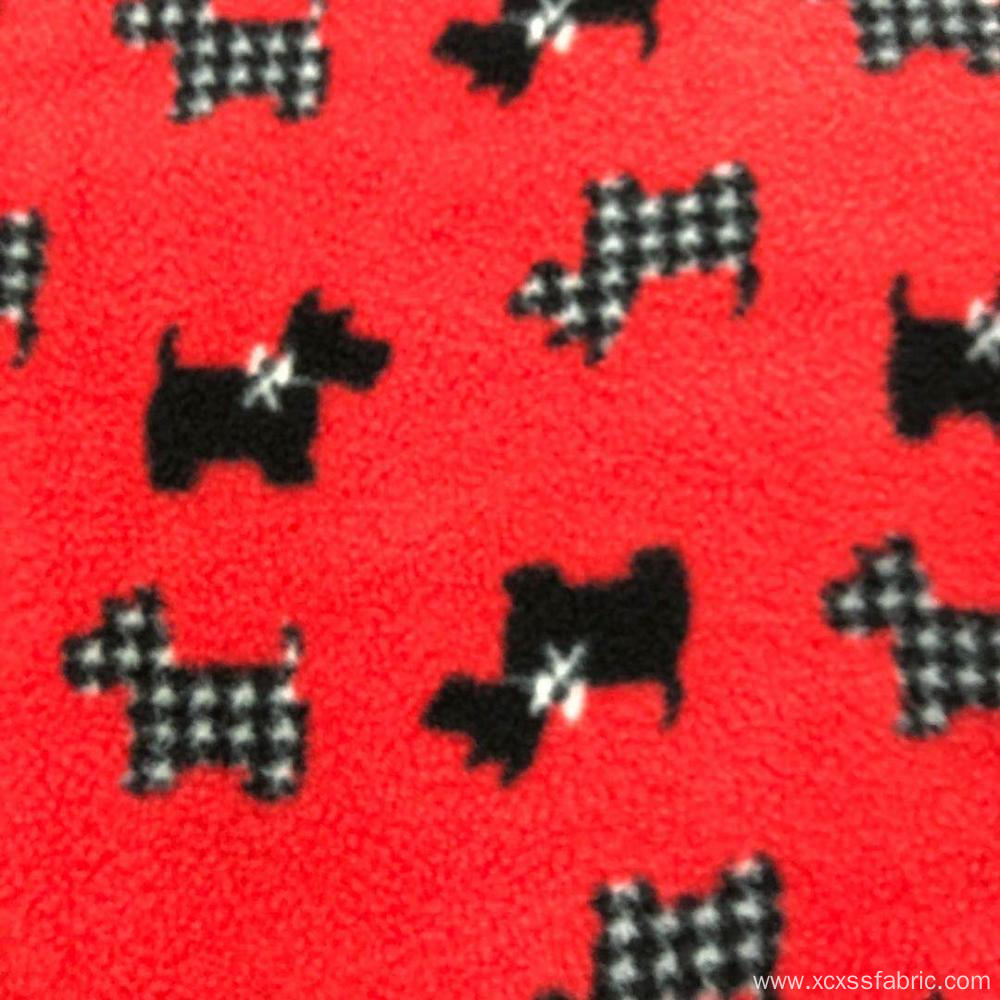 New design children design polar fleece fabrics