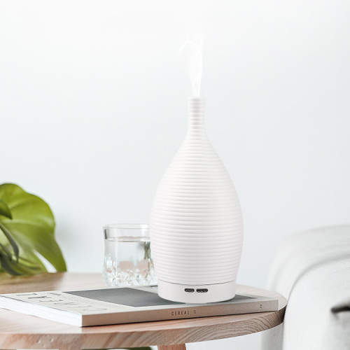 100ml Flower Vase White Ceramic Essential Oil Diffuser