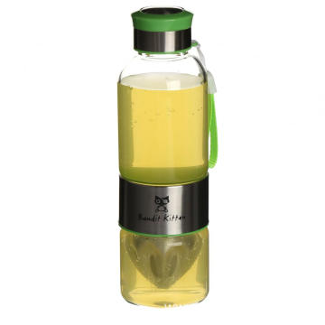 500ml hot products glass water bottle with silicone sleeve