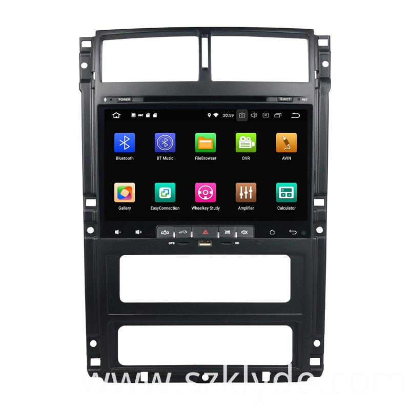 Octa Core 32G Head Unit Peugeot 405 (2)