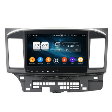Klyde Android Multimedia bilstereo ar gyfer LANCER 2015