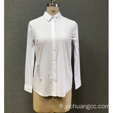 chemise blanche femme