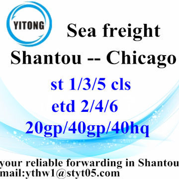 Shantou International Freight Agent to Chicago