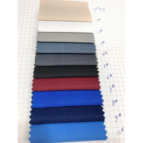 T/C Tooling Dobby Dyed Processing Shirt Fabric
