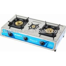 SS Surface 3 Burner Gas Stove