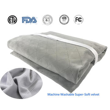 "Ultraheat King Size Heating Pad 12""X24"" With ETL Approval"