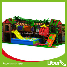 Indoor amusement playground equipment structure