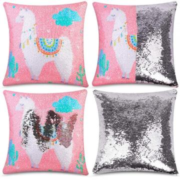 ALPACA REVERSIBLE SEQUIN PILLOW-0