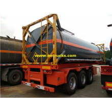 28CBM 20ft Sulfuric Acid Tank Containers