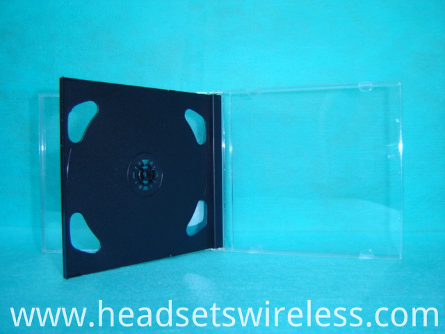 10 4mm Double Cd Case With Black Tray3