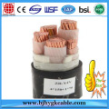 Electrical Cables IEC Standard 4x25mm2 with PVC insulation
