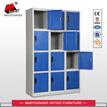 12 doors steel staff school gym locker