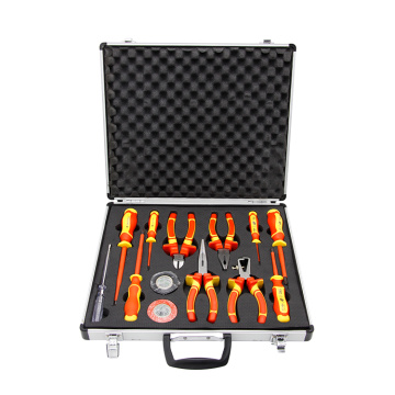 13pcs VDE plier and screwdriver set