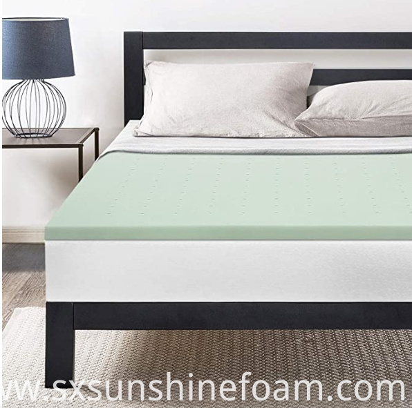 Green Team Memory Foam Topper