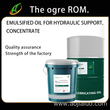 Emulsified Oil And Concentrate For Hydraulic Supports