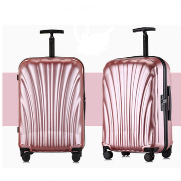 Travel trolley luggage carry on abs pc luggage