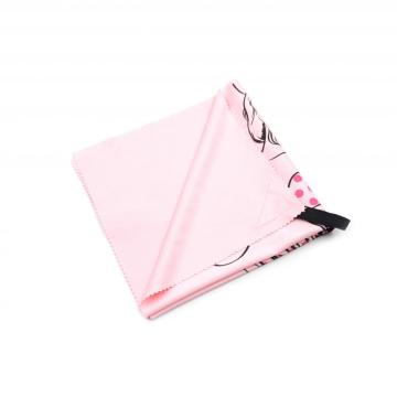 Ecofriendly label microfiber cloth for digital products