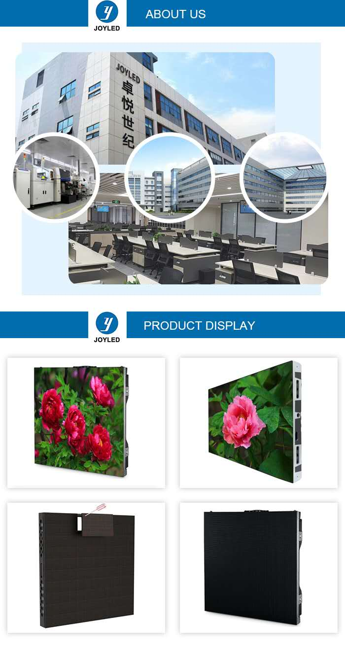 Indoor Rental Led Display Company