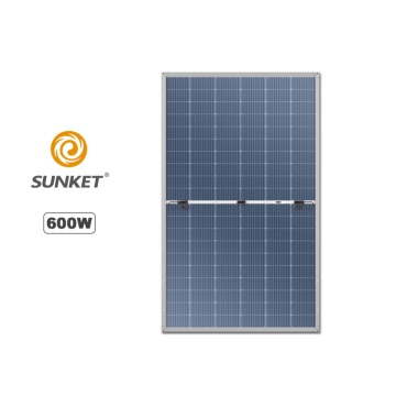 600W mono solar panel compared with Longi