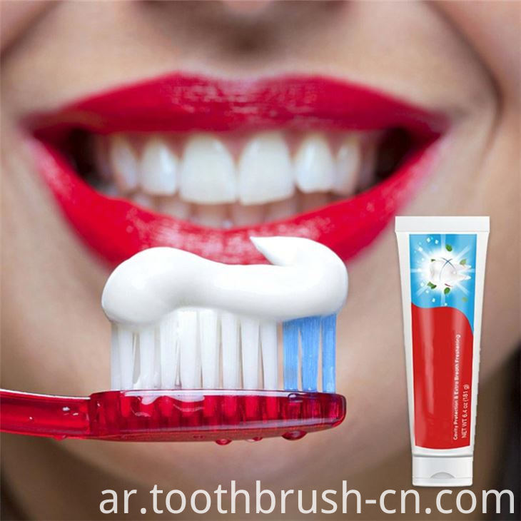 Whitening Toothpaste with Different Flavor
