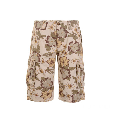 Custom Camouflage Printed Men's Cargo Shorts