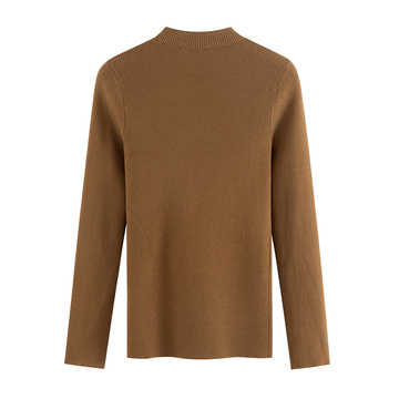 Fashion Casual Pullover Design Cashmere Sweater