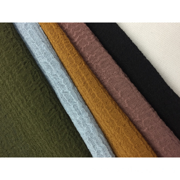 75D Polyester Nano Crepe Solid Fabric