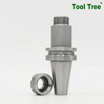 High Precision Sandblasting BT40-ER25 Tool Holders