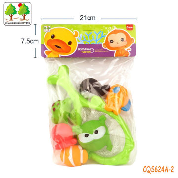 CQS624A-2 CQS soft toys 6PCS and fishing net
