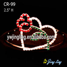 Holiday Flower Heart Valentine'S Day Crown