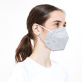 White List Certified 5-Ply KN95 Mask With Valve