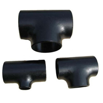 EN10253-2 Seamless Pipe Fittings Equal Tee