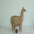 nature sea grass handicraft alpaca decoration pot