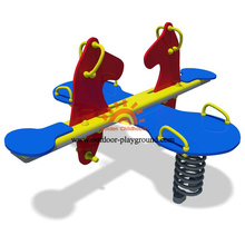 Playground Equipment Plastic Animal Springs For Kindergarten