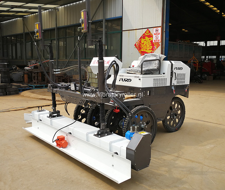 Hydraulic Ride-on Concrete Floor Laser Screed Machine