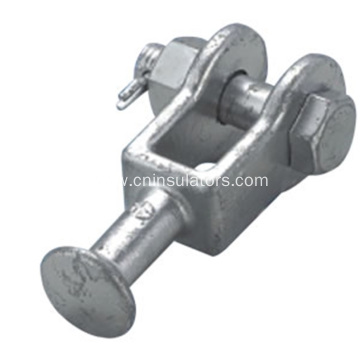 Hot DIP Galvanized Ball Clevis