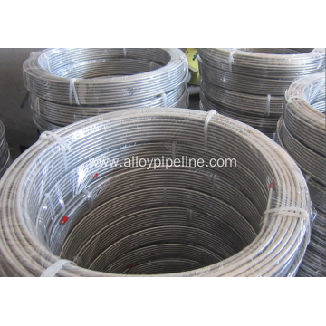 Cold Drawn Seamless Coiled Tubing TP316L 9.53mm 0.89mm