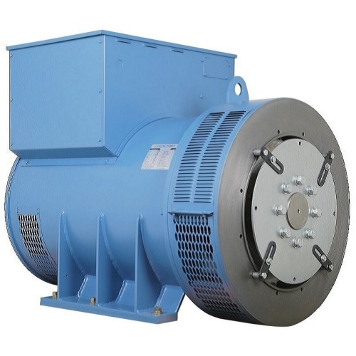 Short blue 380v Diesel Synchronous Brushless Generator