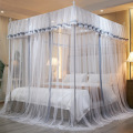 New Indoor 1.5 Bed 1.8 Bed Palace Princess Wind Ribbon Tent Square Mosquito Net