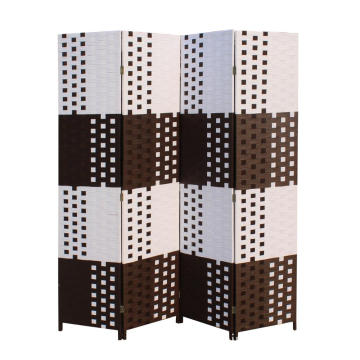 Dubai Paper rope 4 panels folding room divider