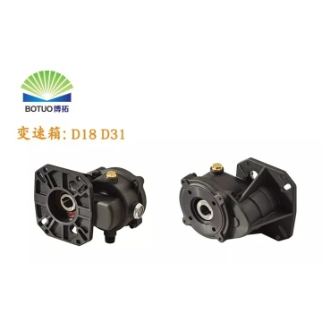 D16 gear box for pump